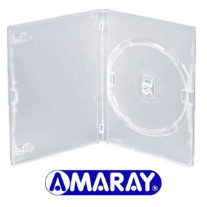 Amaray DVD Clear