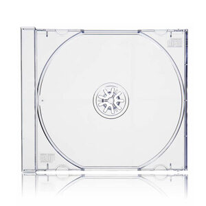 CD Jewel Case Clear