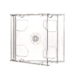 CDR Double Jewel Case Clear Tray 10mm