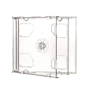 CD Jewel Case Double Clear