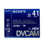 Sony DVCAM Small Shell (12 – 41) Minutes