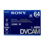 Sony DVCAM Large Shell (64 – 184) Minutes