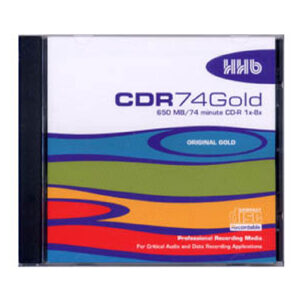 HHB CDR Gold 74 in jewel case
