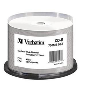 Verbatim CDR White Thermal 50 pack