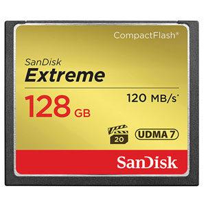 Sandisk 128GB CF extreme