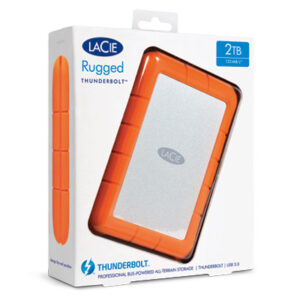 Lacie Rugged Thunderbolt Boxed
