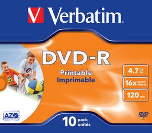 Verbatim DVD-R Printable in JC