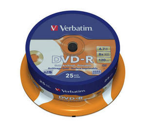 Verbatim DVD-R Gold Archival