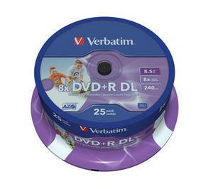 Verbatim DVD+R DL 8.5GB Inkjet Printable