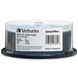 Verbatim BD-R 50GB spindle 25