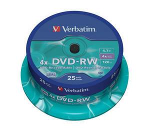 Verbatim DVD-RW 25 pack