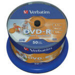 Verbatim DVD-R Inkjet Printable 4.7GB (50 pack)