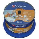 Verbatim DVD-R Inkjet Printable 50 Pack