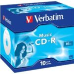 Verbatim Music CD-R 80 Minutes (Audio Disk)