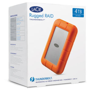 Lacie 4TB Rugged RAID Boxed