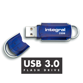 Integral Courier USB3 Flash Memory