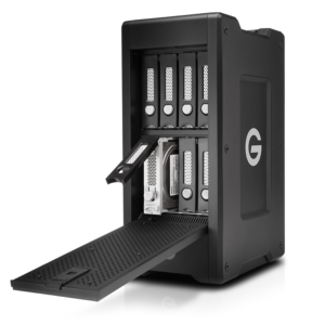 G-Technology G-Speed Shuttle XL open