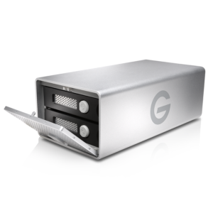 G-Technology G-RAID FW/USB Side Open