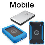 G-Technology Mobile Drives