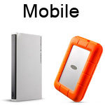 LaCie Mobile & Rugged Hard Drives