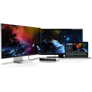 CalDigit TS3 Lite dual monitor