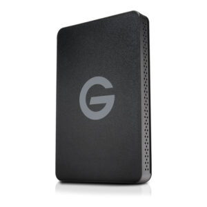 G-Tech cfast reader standing