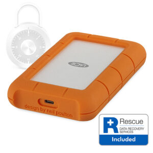 LaCie Rugged Secure Rescue
