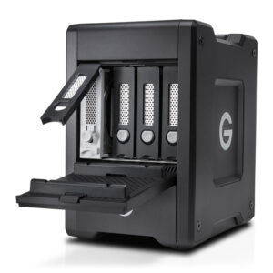 G-Technology G-Speed Shuttle Thunderbolt 3 Open