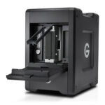 G-Technology G-SPEED Shuttle Thunderbolt 3 with ev Bay Adapters Front