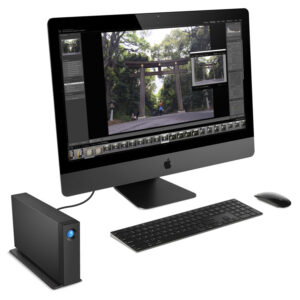 LaCie d2 Professional with iMac