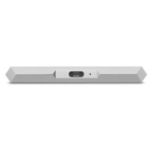 LaCie Mobile Hard Drive Silver 2TB - USB-C Port