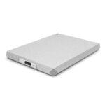 LaCie Mobile Hard Drive – Moon Silver (1TB – 5TB)