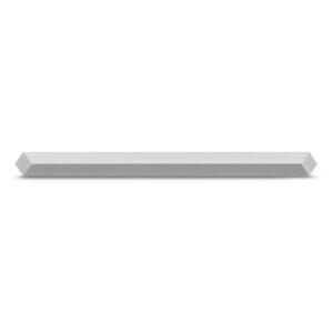 LaCie Mobile Hard Drive Silver 2TB - Profile