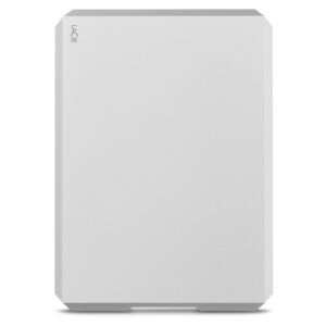 LaCie Mobile Hard Drive Silver 2TB - front