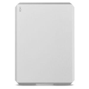 LaCie Mobile Hard Drive Silver 2TB - front