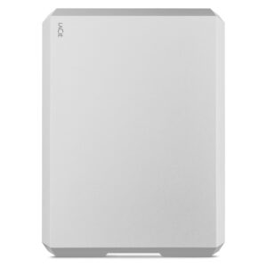 LaCie Mobile Hard Drive Silver 5TB - Front