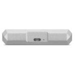 LaCie Mobile Hard Drive Silver 5TB - USB-C