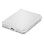 LaCie Mobile Hard Drive Silver 5TB - Top