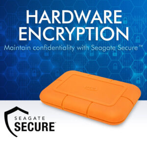 LaCie SSD with Hardware Encryption