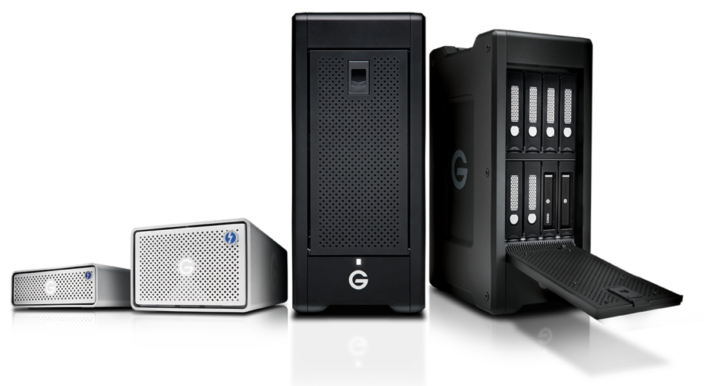 G-Technology Thunderbolt 3 family