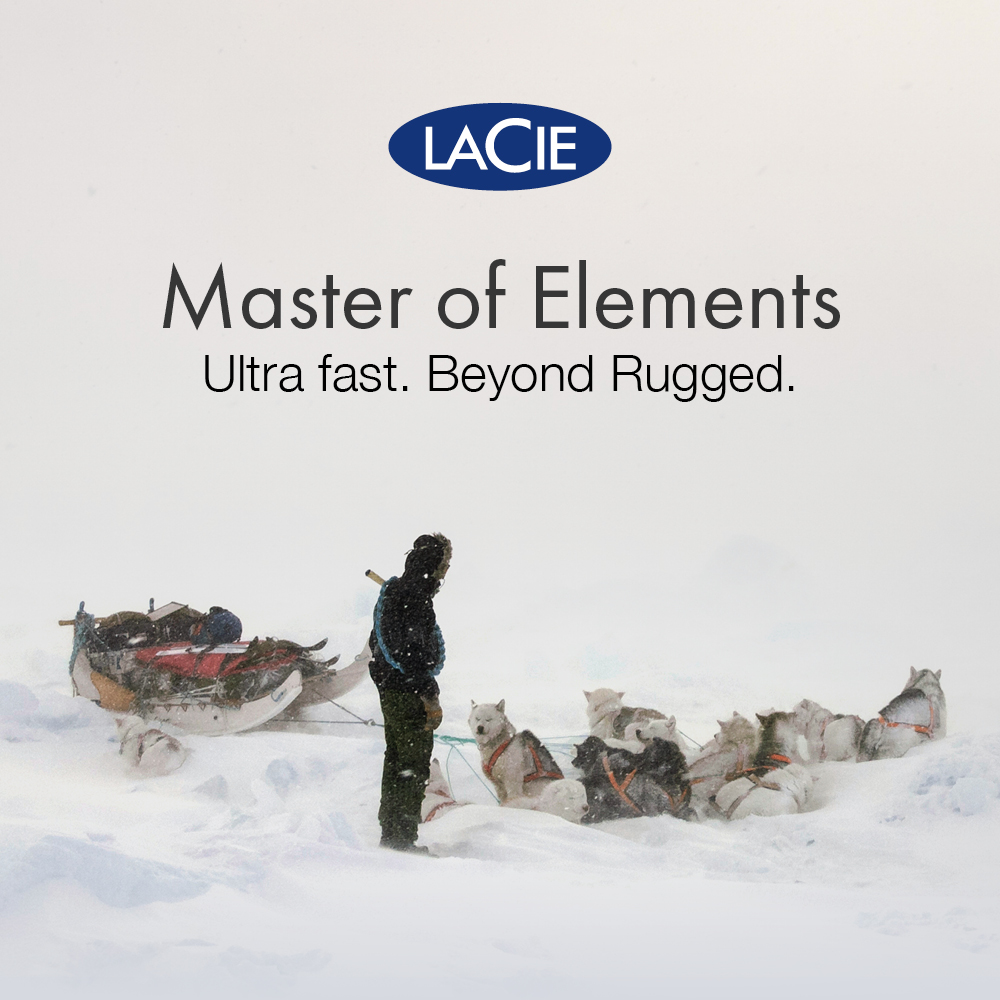 LaCie Master of Elements Graphic