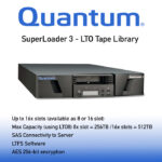 Quantum SuperLoader 3 (SL3) LTO Tape Library