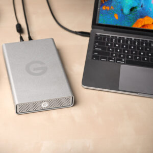 G-Technology G-Drive USB-C lifestyle