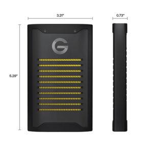 G-Technology ArmorLock Dimensions