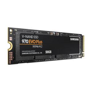 Samsung 970 evo plus v-nand ssd - angle