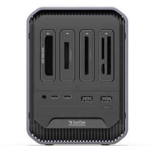 sanDisk Professional Pro DOCK 4 - front